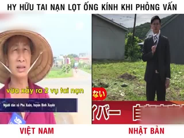 So sánh tai nạn Việt Nam và Nhật Bản