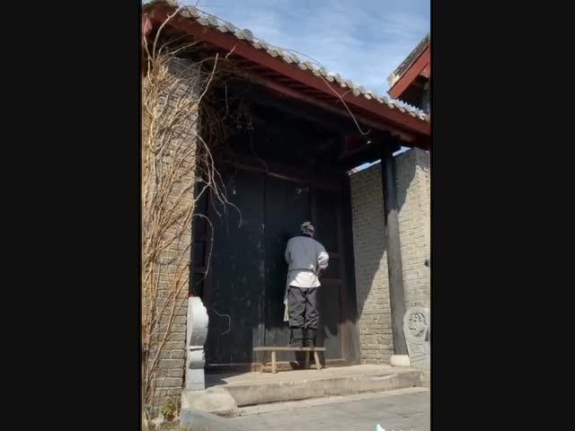 Vỡ bụng với hậu trường phim cổ trang Trung Quốc