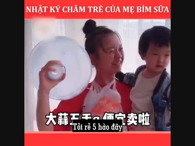 Nhật ký chăm trẻ của mẹ bỉm sữa