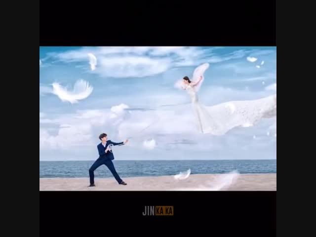 Hậu trường chụp ảnh cưới, đố nhịn cười!