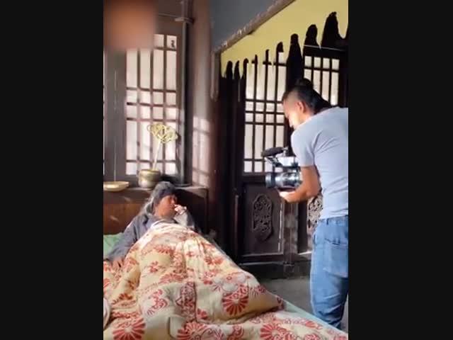 Cười té ghế hậu trường phim cổ trang Trung Quốc (P2)