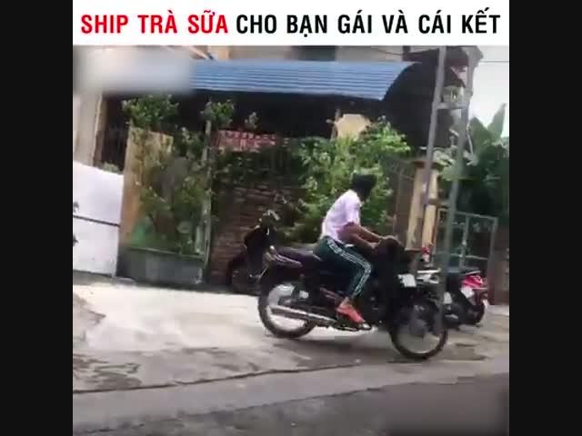 Ship trà sữa cho bạn gái và cái kết