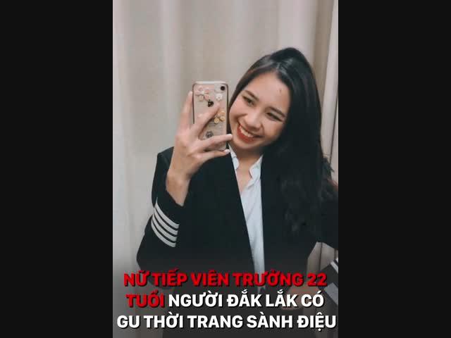 Nữ tiếp viên trưởng 22 tuổi người Đắk Lắk có gu thời trang sành điệu