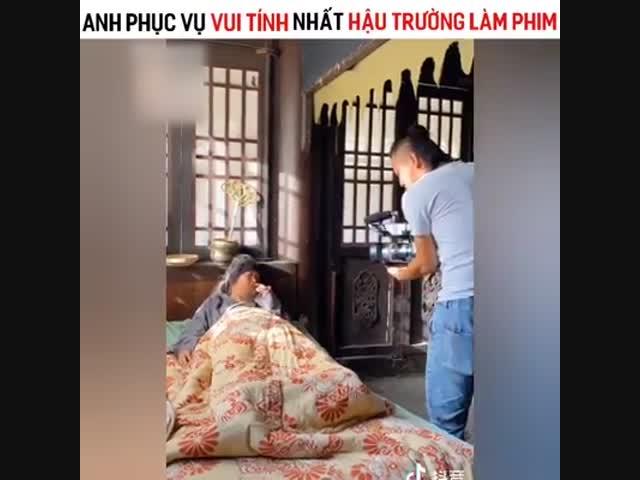 Cười té ghế hậu trường phim cổ trang Trung Quốc (P3)