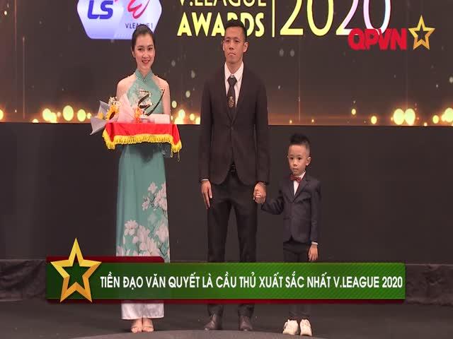 Điểm tin sáng 21/11: Văn Quyết xuất sắc nhất V.League 2020, Kiatisak dẫn dắt HAGL