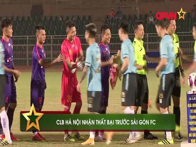 Điểm tin 30/12: Hà Nội FC gây thất vọng trước Sài Gòn FC, Arsenal tiếp đà hồi sinh
