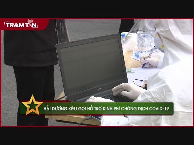 Hải Dương kêu gọi hỗ trợ kinh phí chống dịch Covid-19