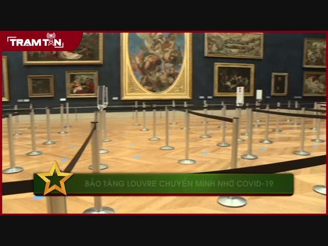 Bảo tàng Louvre chuyển mình nhờ COVID-19