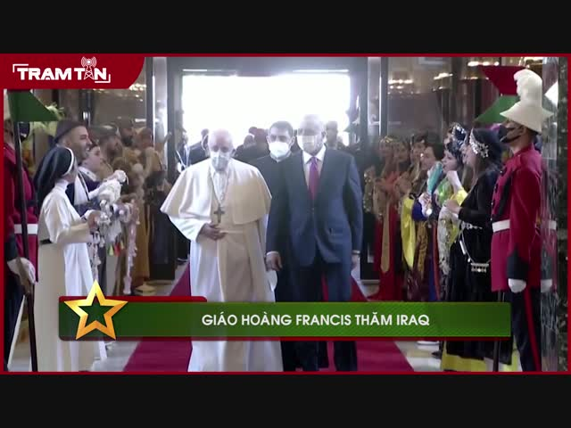Giáo Hoàng Francis thăm Iraq