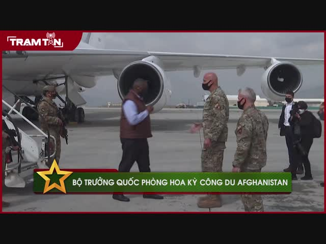 Bộ Trưởng Quốc Phòng Hoa Kỳ công du Afghanistan
