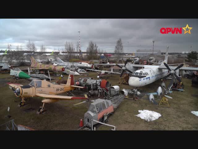 Luyến tiếc bảo tàng máy bay thời Liên Xô