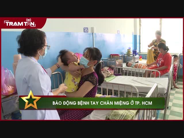 Báo động bệnh tay chân miệng ở TP. HCM