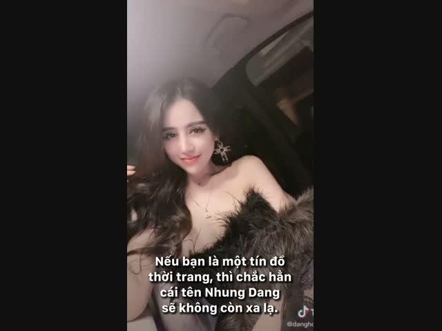 Bà chủ 9x sở hữu nhan sắc nghiêng nước nghiêng thành của thương hiệu Nhung Dang