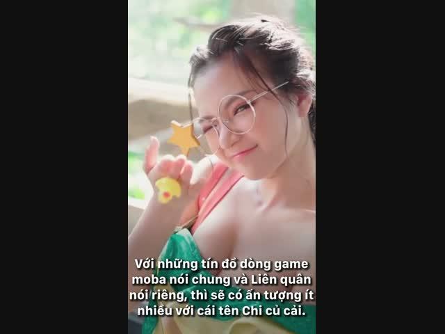 Vũ Ngọc Kim Chi, nữ streamer nóng bỏng của làng game moba