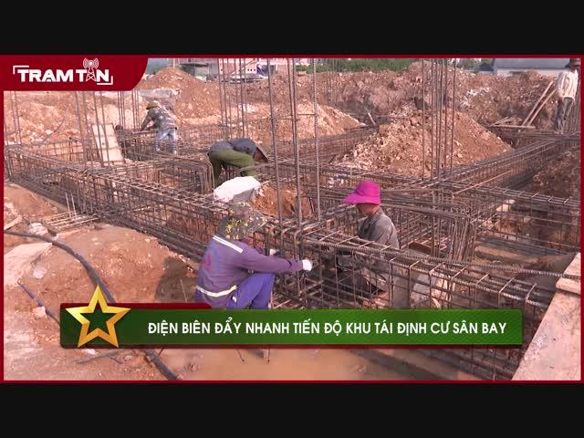 Điện Biên đẩy nhanh tiến độ khu tái định cư sân bay