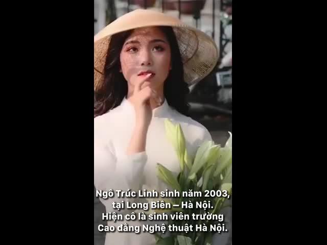 Say đắm trước nét đẹp 'trong veo' của nữ sinh trường Cao đẳng Nghệ thuật Hà Nội