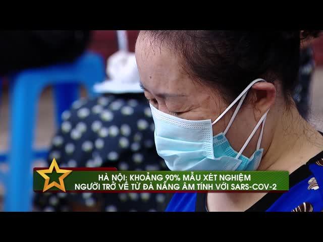 Hà Nội: khoảng 90% mẫu xét nghiệm người trở về từ Đà Nẵng âm tính với SARS-COV-2