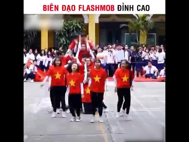 Biên đạo flashmob đỉnh cao