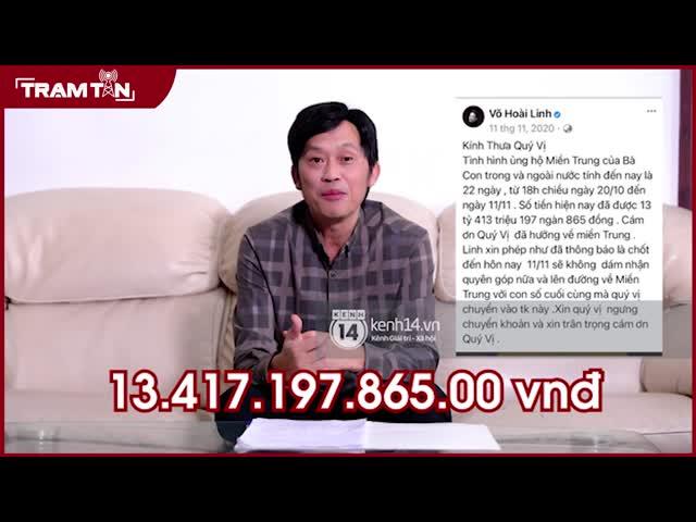 Hoài Linh: 'Tôi xin lỗi vì chậm giải ngân hơn 13 tỷ đồng'