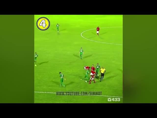 Hài thể thao - Những cú sút đi vào lòng đất của các cầu thủ - Phần 4