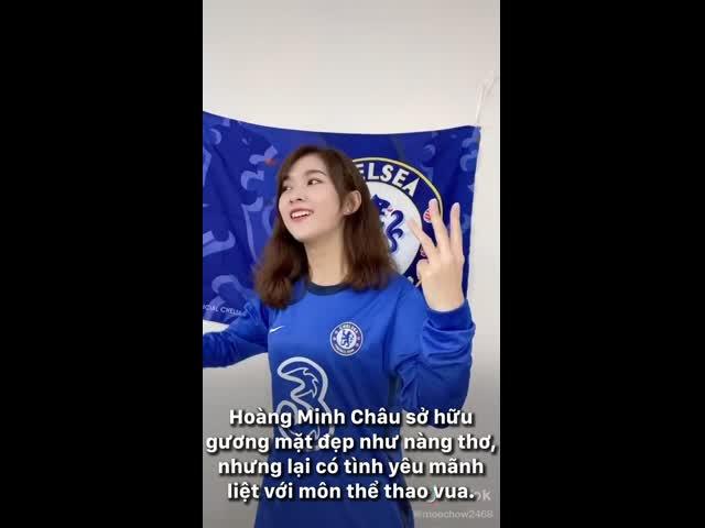 Nhan sắc nàng 'hot girl Chelsea' khiến bao chàng mê mẩn
