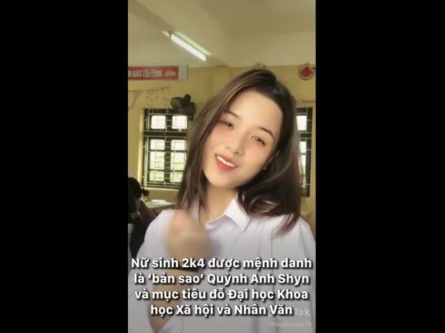 Nữ sinh 2k4 được mệnh danh là 'bản sao' Quỳnh Anh Shyn và mục tiêu đỗ Đại học Khoa học Xã hội và Nhân Văn
