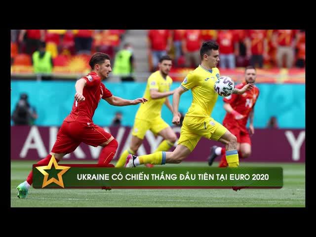 Thắng nghẹt thở Bắc Macedonia, Ukraine có chiến thắng đầu tiên tại Euro