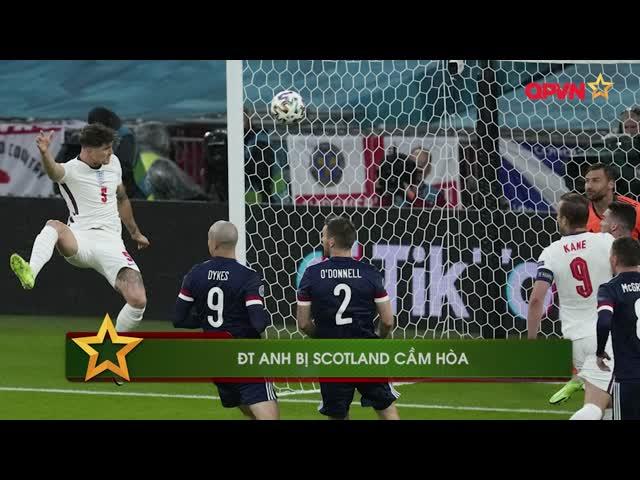 ĐT Anh thể hiện màn trình diễn nhạt nhòa trước Scotland