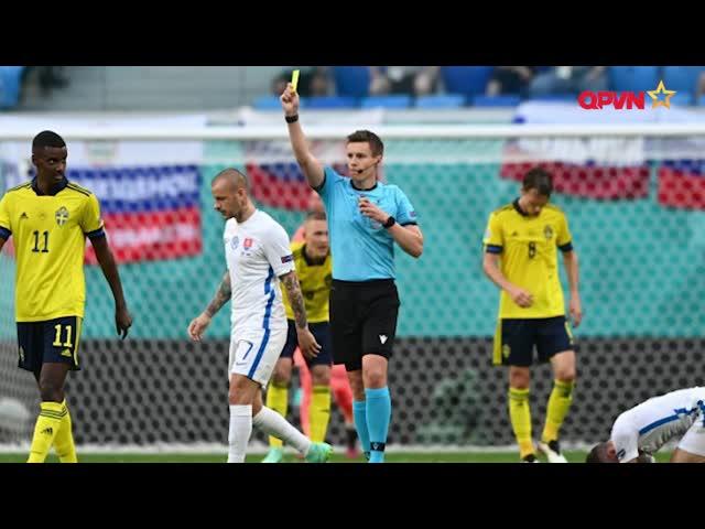 Thụy Điển thắng kịch tính Slovakia nhờ bàn thắng từ chấm 11m