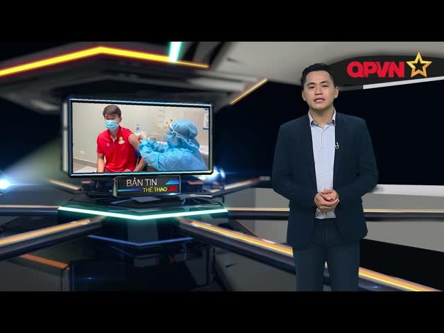 Cầu thủ Viettel hoàn thành mũi tiêm Vắc xin thứ 2 trước khi dự AFC Champions League