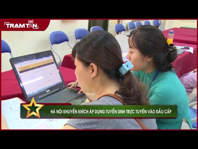 Hà Nội: Khuyến khích tuyển sinh trực tuyến