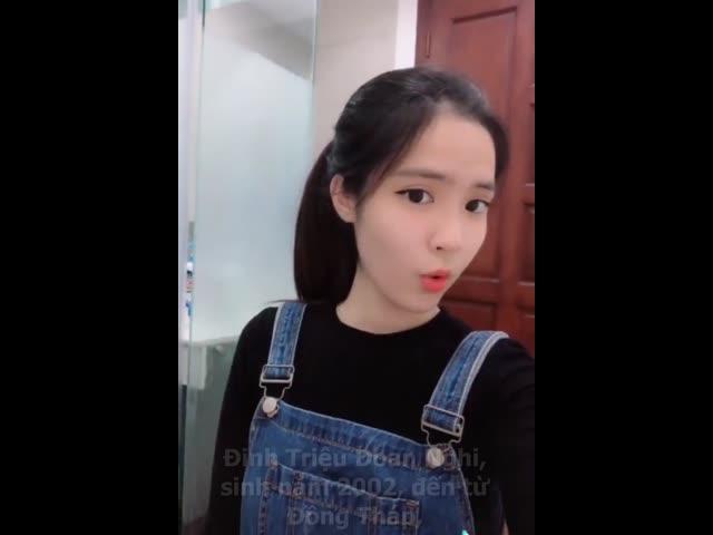 Hot girl 2k2 Đồng Tháp nổi lên với khoảnh khắc đẹp như thiên thần