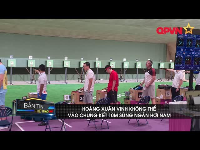 Hoàng Xuân Vinh không thể bảo vệ HCV Olympic