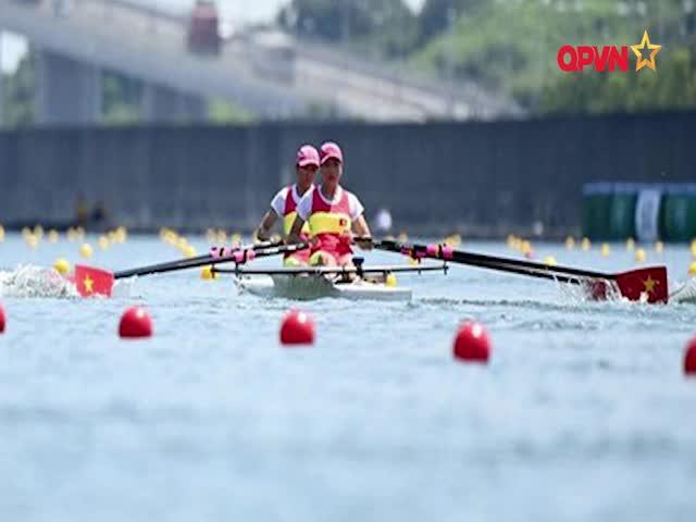Rowing Việt Nam đạt thành tích tốt nhất sau 3 lần tham dự Thế vận hội