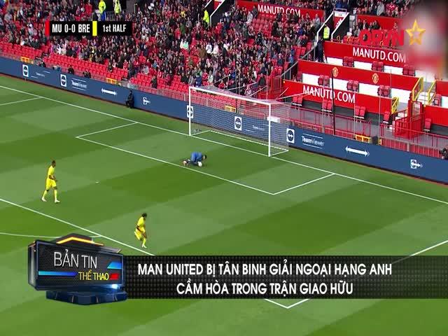 Man United bị đội bóng tân binh Ngoại hạng Anh cầm hòa