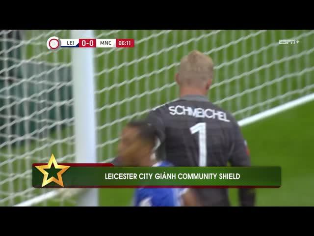 Đánh bại Man City, Leicester giành Community Shield
