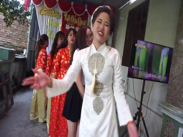 Cô dâu được dân cư mạng truy tìm vì vừa xinh vừa nhảy đẹp !  Video đặc sắc  | Coi cấm cười TV