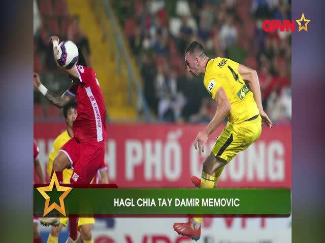 HAGL chia tay trung vệ trụ cột Damir Memovic