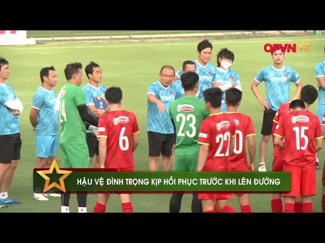 Điểm tin 26/8: Đình Trọng kịp trở lại, Tấn Trường tiếp tục gắn bó với Hà Nội FC