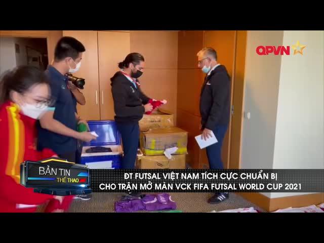 ĐT Futsal Việt Nam rèn quân trước trận gặp Brazil
