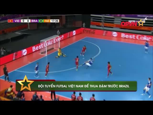 Điểm tin 14/9: ĐT Futsal Việt Nam thua đậm Brazil, Văn Hậu nghỉ dài hạn