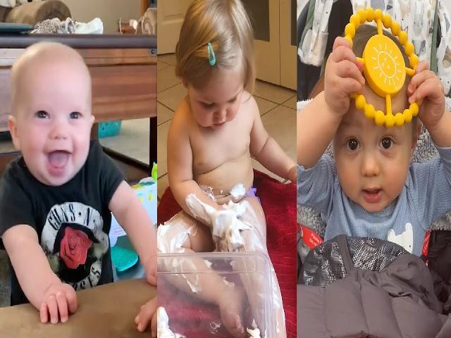 Top video trẻ vui nhộn và dễ thương trong tuần  Video trẻ vui nhộn
