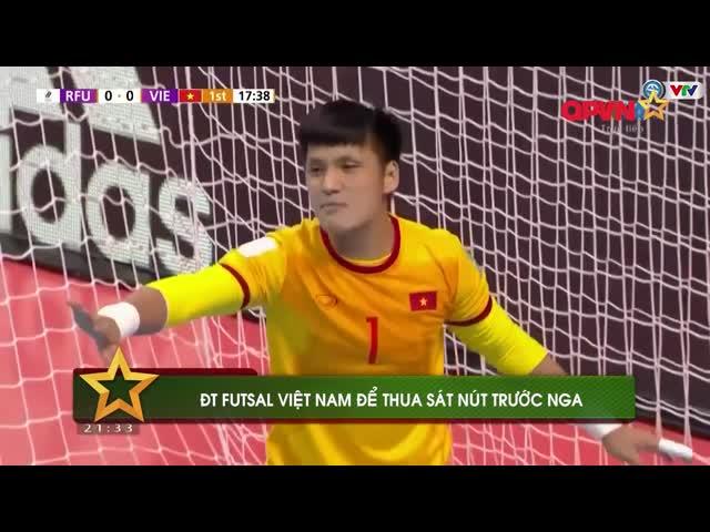 Điểm tin 23/9: Thua sát nút đội hạng 4 thế giới, ĐT Futsal Việt Nam ngẩng cao đầu rời WC