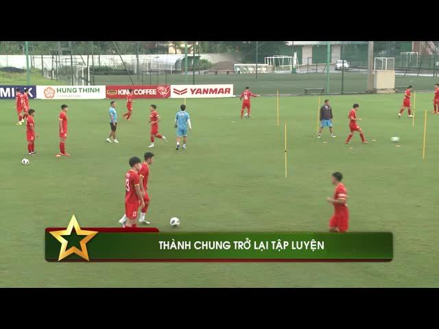 Thành Chung trở lại, ĐT Việt Nam sẵn sàng đấu Trung Quốc