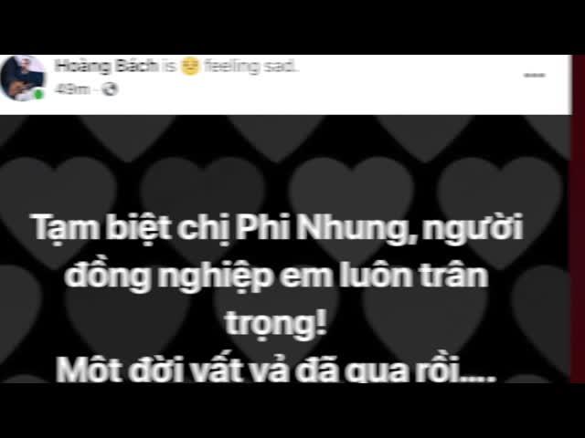 Nghệ sĩ đồng loạt đăng trạng thái tiếc thương Phi Nhung